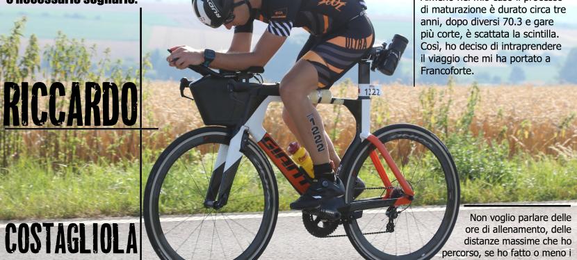 Riccardo Costagliola di Polidoro, esordio nell'Ironman in 10:13:31. Ed è solol'inizio!