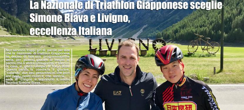 La Nazionale di Triathlon Giapponese sceglie Simone Biava e Livigno, eccellenzaItaliana