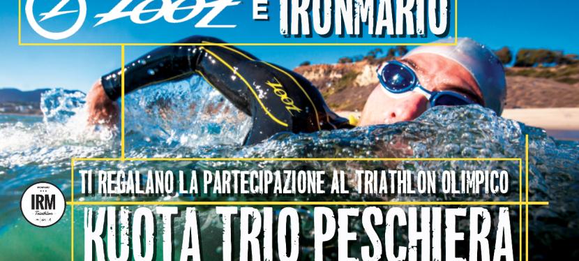 Zoot e IronMario ti regalano la partecipazione al Triathlon Olimpico Kuota TriOPeschiera!