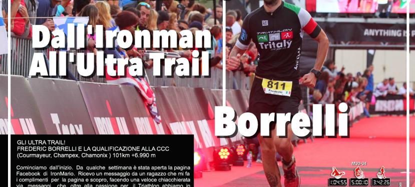Frederic Borrelli, dall'Ironman agli UltraTrail.